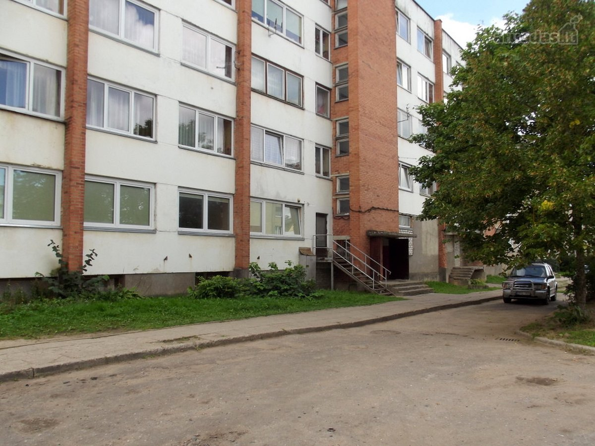 Telšių m., Luokės g., 2 kambarių butas