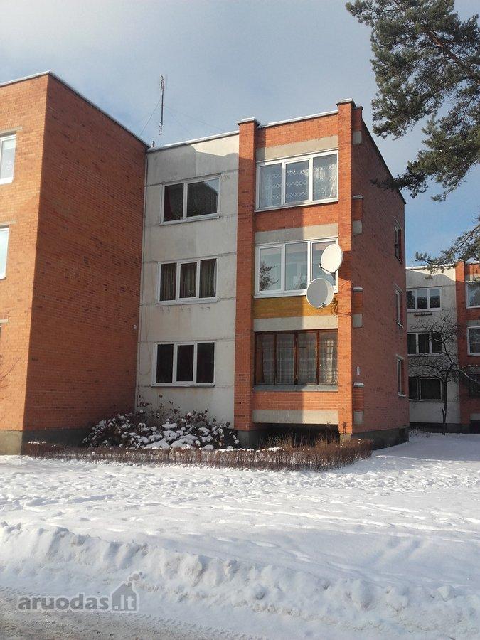 Šalčininkų r. sav., Baltosios Vokės m., A. Mickevičiaus g., 2 kambarių butas