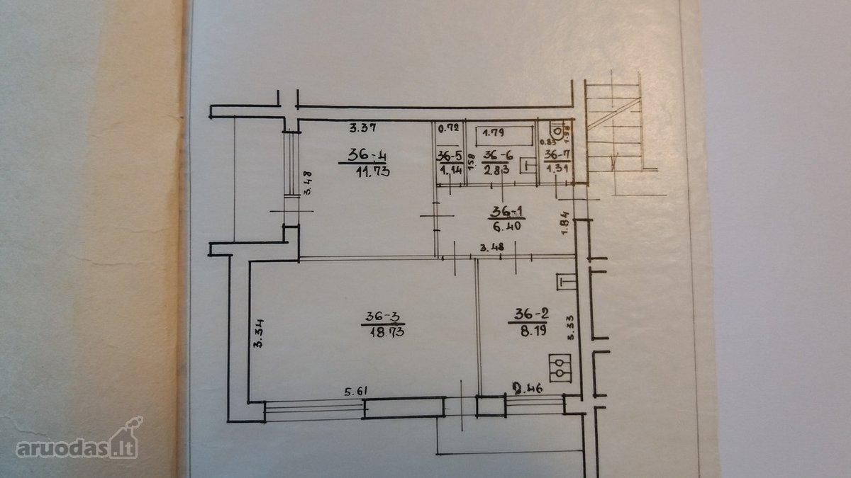 Trakų r. sav., Lentvario m., Klevų g., 2 kambarių butas