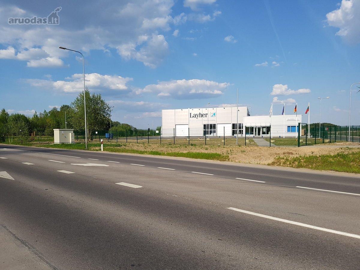 Vilnius, Liepkalnis, Salininkų g., gamybinės, sandėliavimo, komercinės, Kita paskirties sklypas