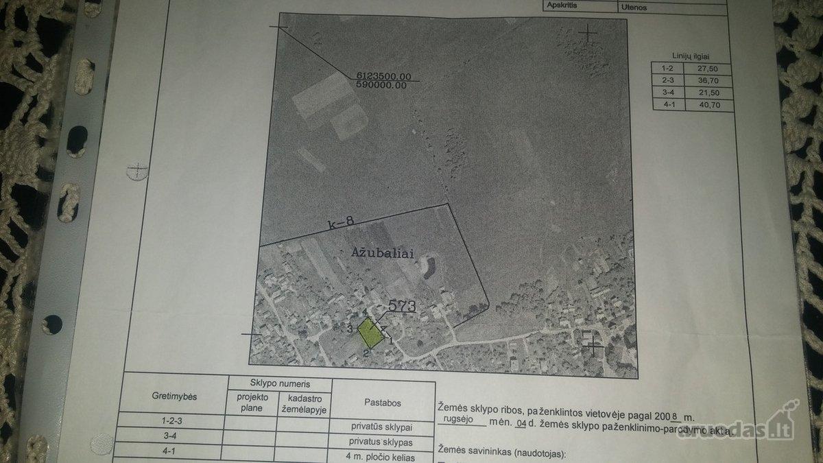 Molėtų m., žemės ūkio paskirties sklypas