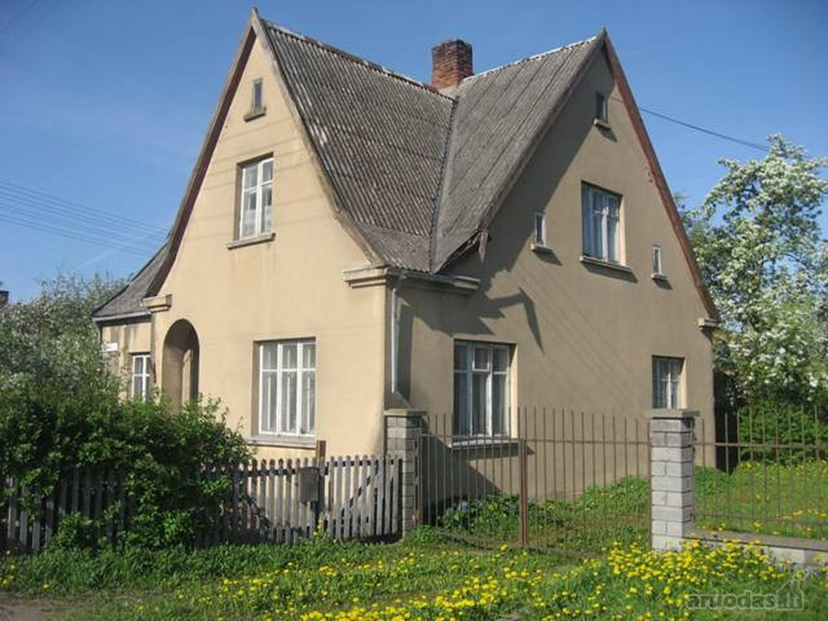 Marijampolės sav., Marijampolės m., Centras, Stoties g., mūrinis namas