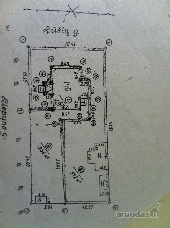 Vilnius, Žvėrynas, Lūšių g., kitos paskirties sklypas