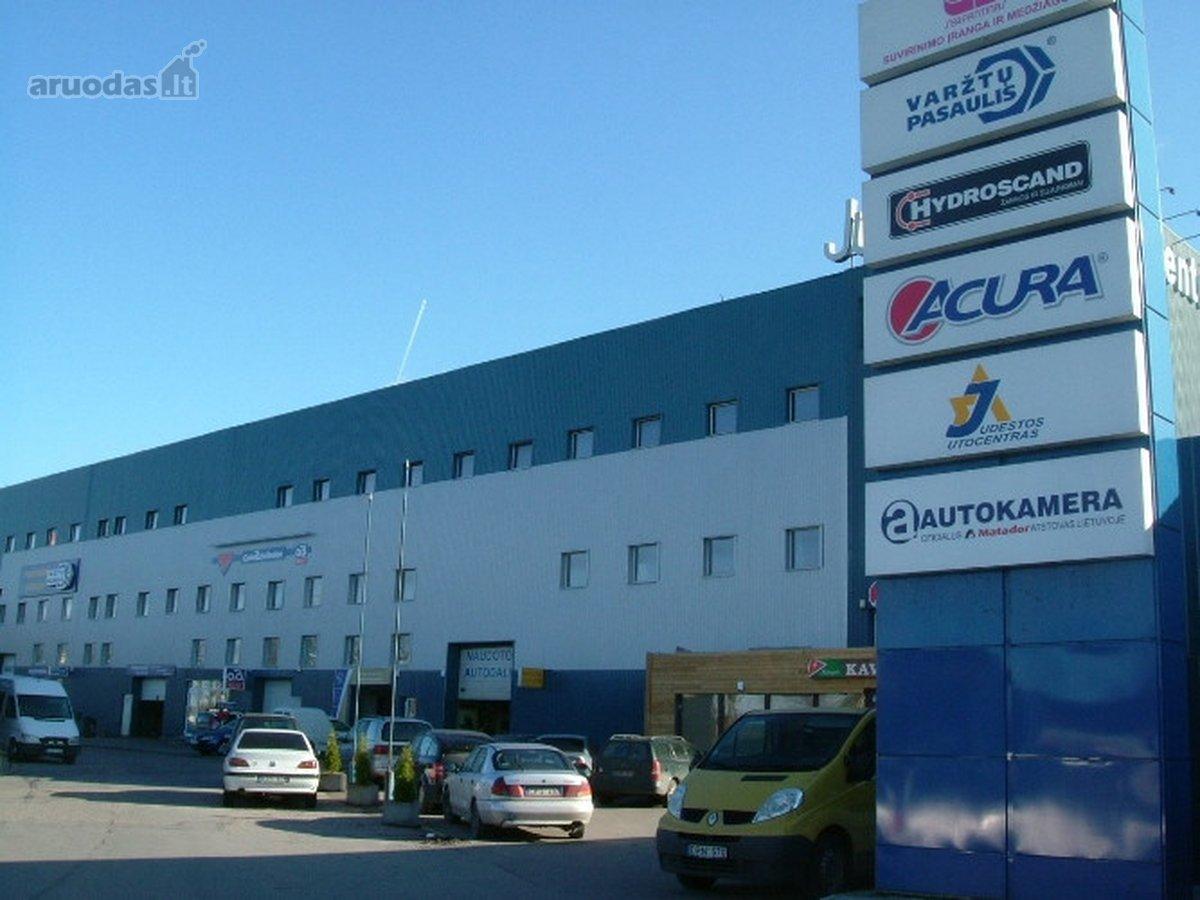 Vilnius, Vilkpėdė, Savanorių pr., prekybinės, paslaugų, sandėliavimo paskirties patalpos nuomai