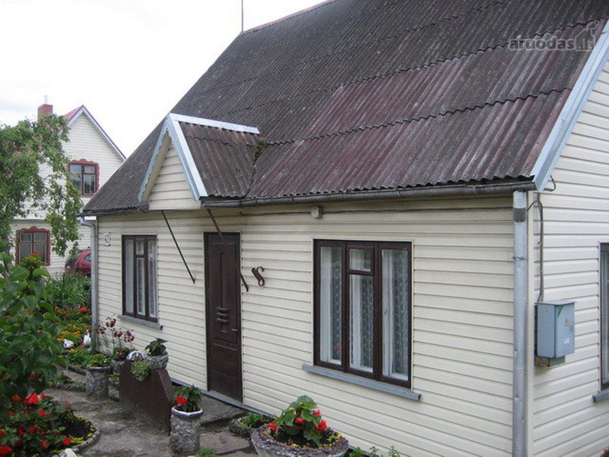 Panevėžys, Rožės, S. Kerbedžio g., rąstinis namas