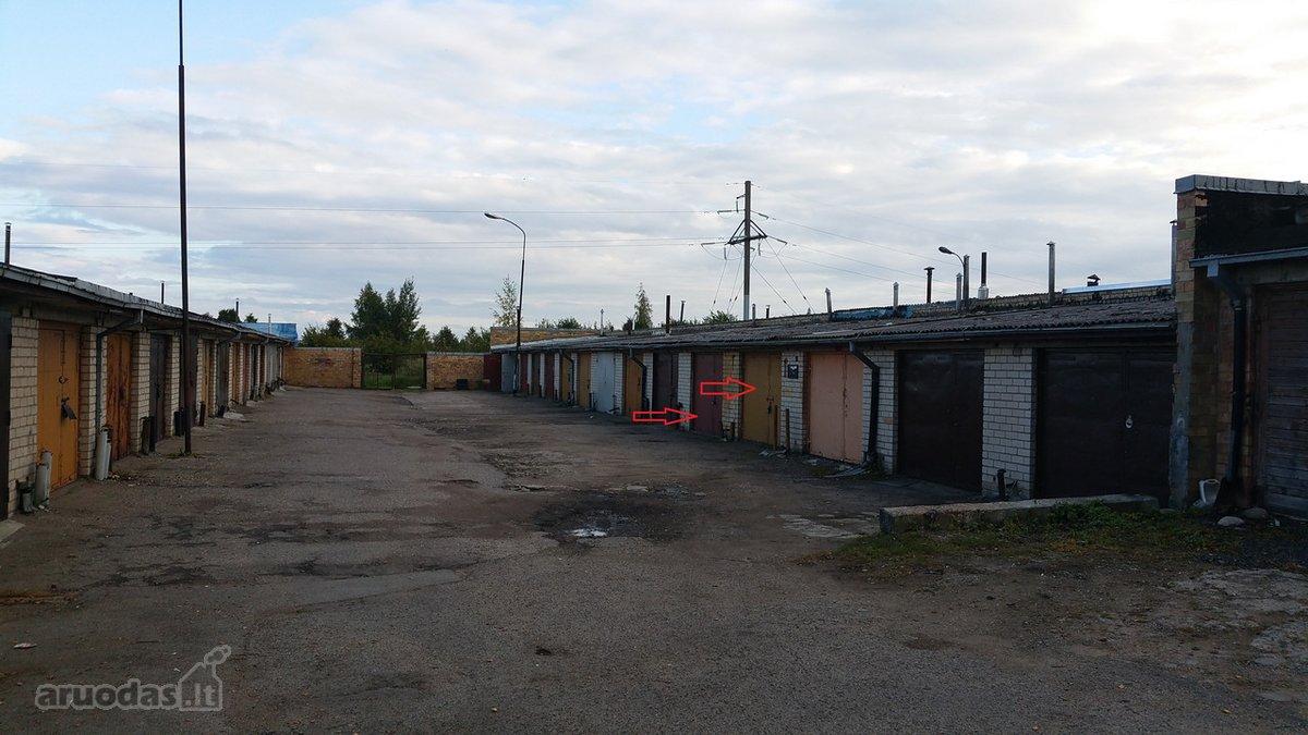 Šiauliai, Lieporiai, Garažų g., mūrinis garažas
