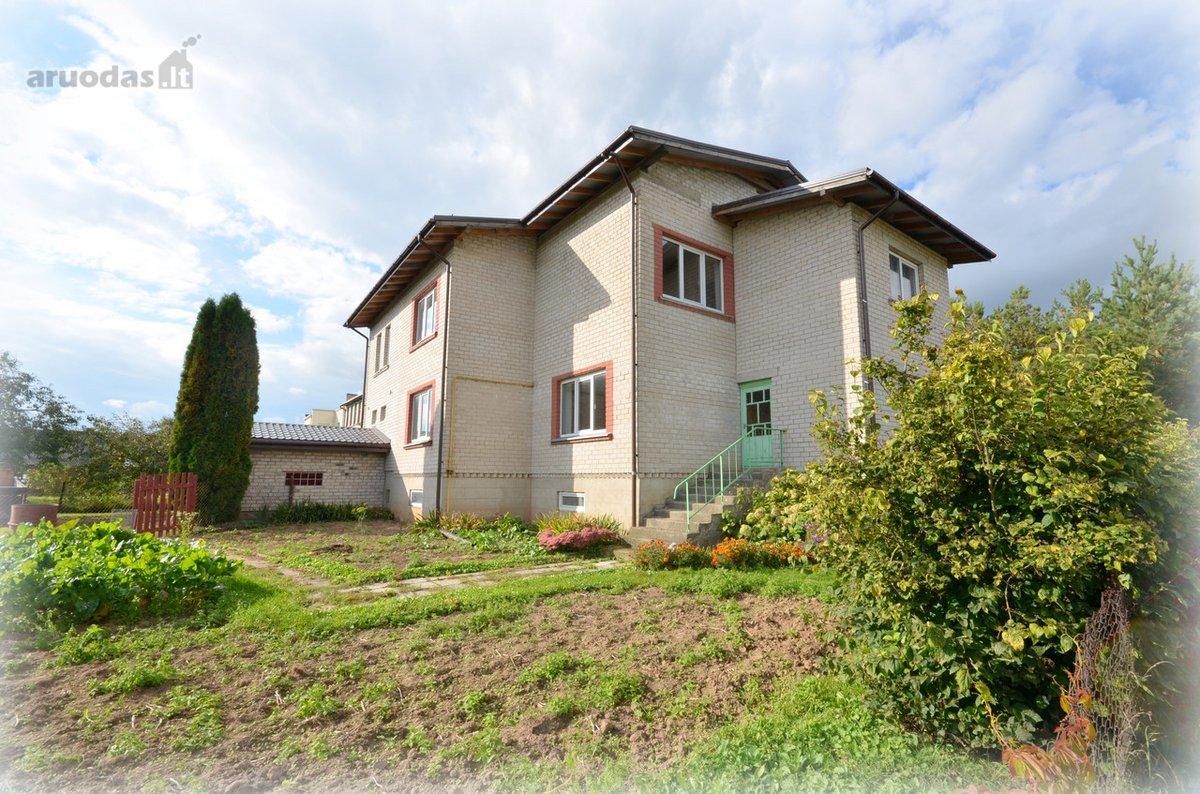 Vilniaus r. sav., Didžiosios Riešės k., Riešės g., mūrinis namas