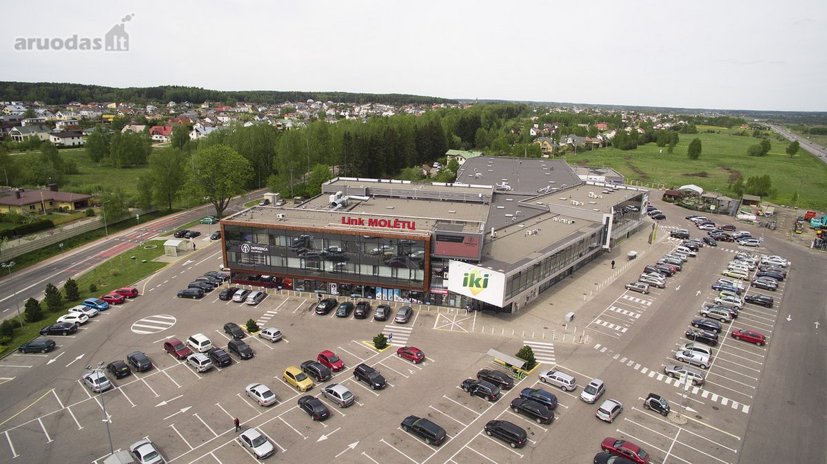 Vilnius, Didžioji Riešė, Molėtų pl., biuro paskirties patalpos nuomai