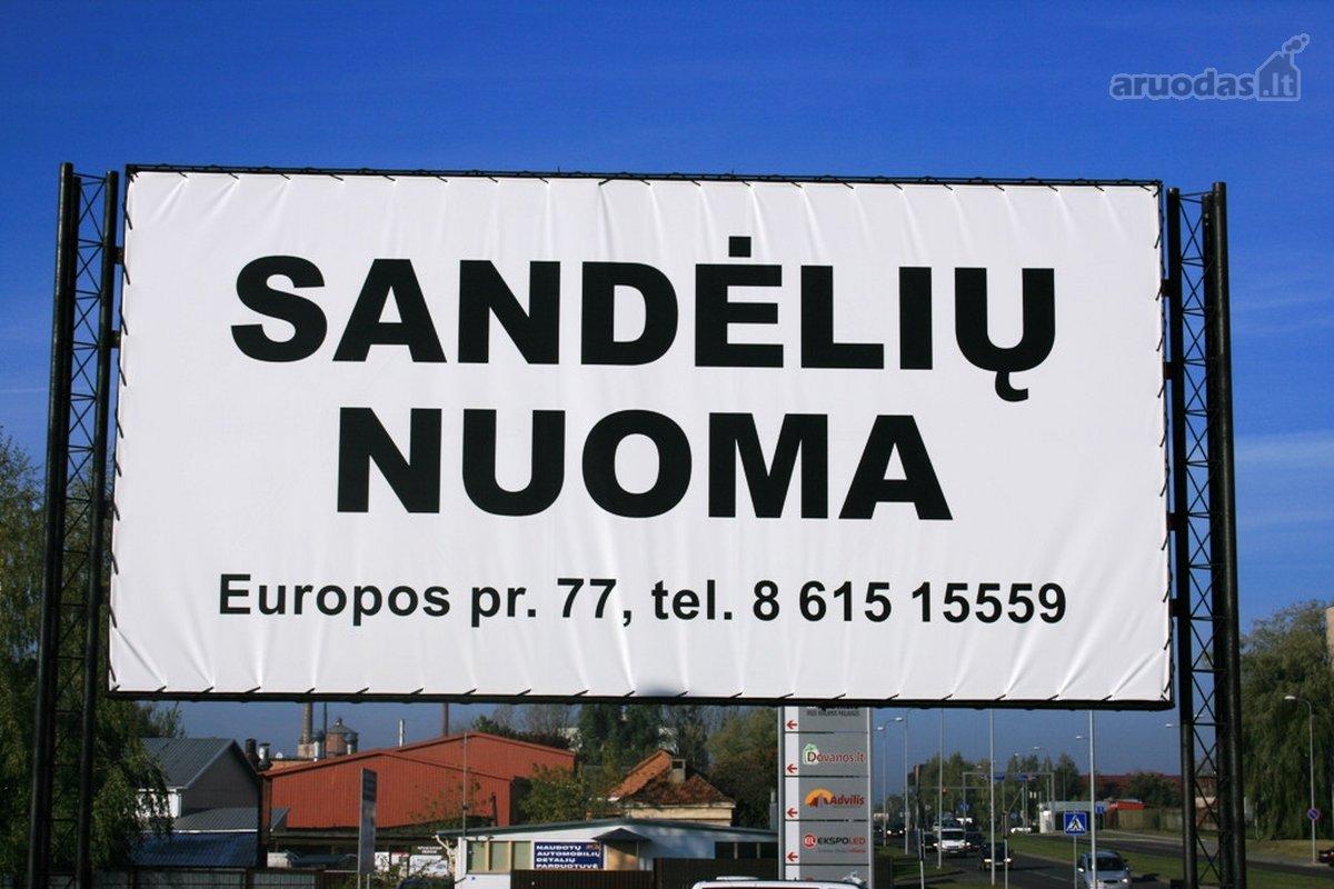 Kaunas, Aleksotas, Europos pr., sandėliavimo, gamybinės paskirties patalpos