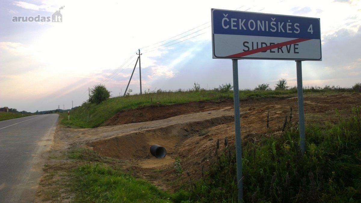 Vilniaus r. sav., Sudervės k., Adomo Mickevičiaus g., namų valdos, daugiabučių statybos paskirties sklypas