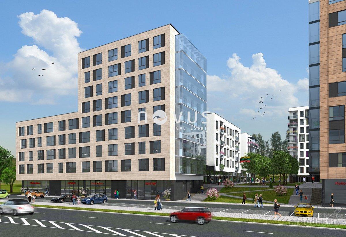 Vilnius, Naujamiestis, Savanorių pr., biuro, prekybinės, paslaugų, maitinimo, kita paskirties patalpos