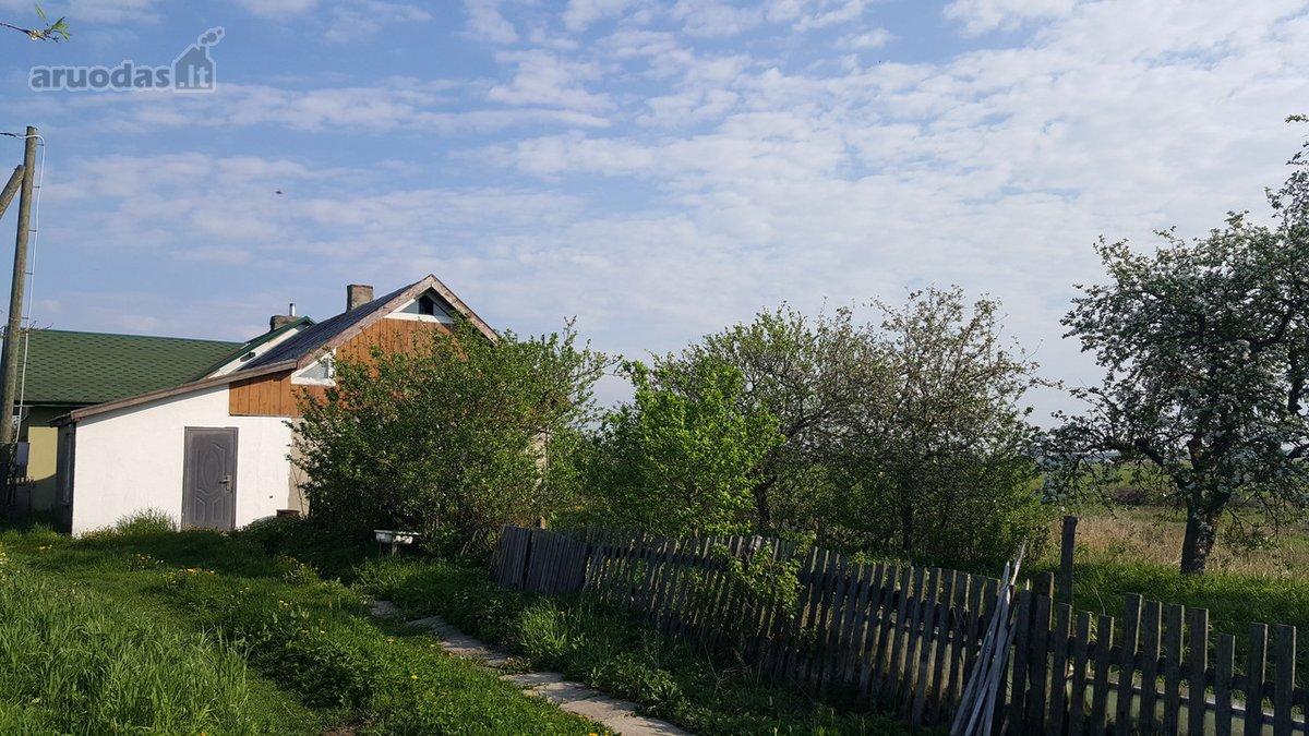 Šilutės r. sav., Rupkalvių k., mūrinio namo dalis