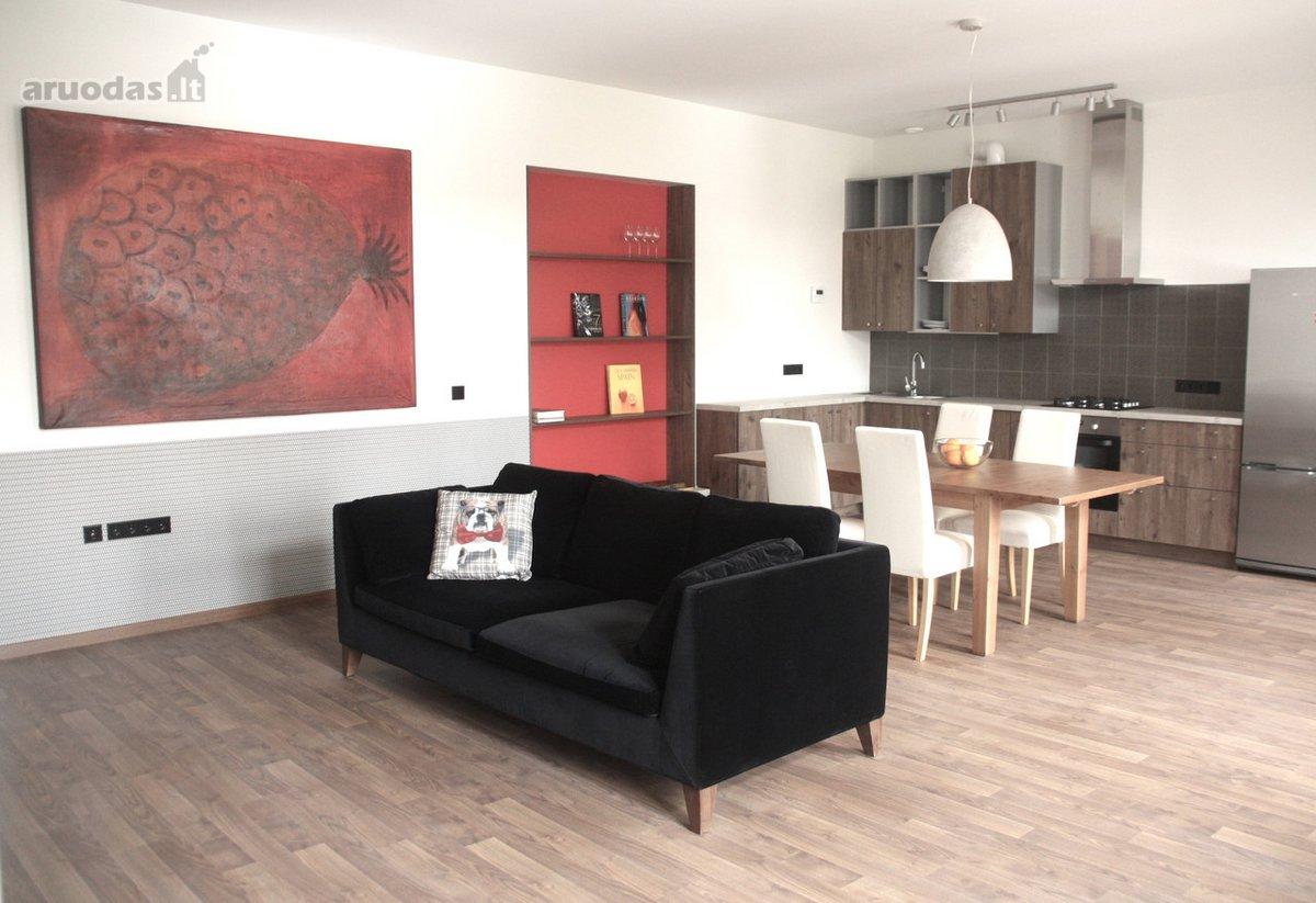 Vilnius, Senamiestis, A. Jakšto g., 3 kambarių buto nuoma