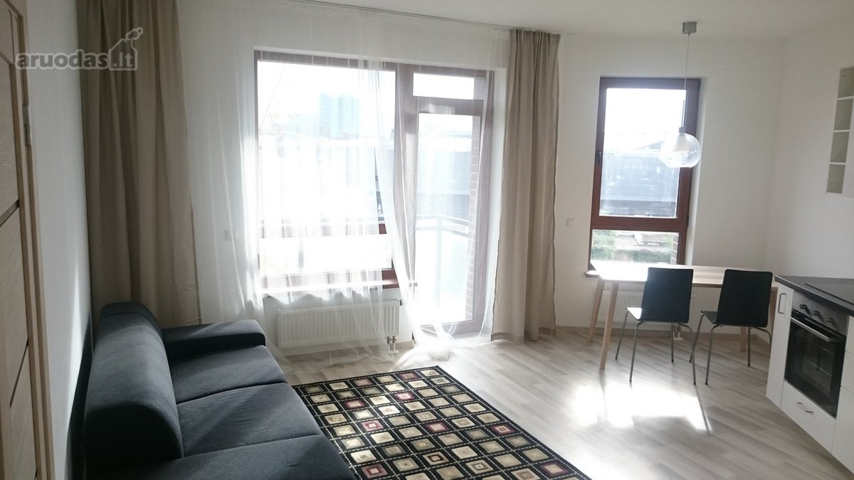 Vilnius, Žvėrynas, Stumbrų g., 2 комнат аренда квартиры