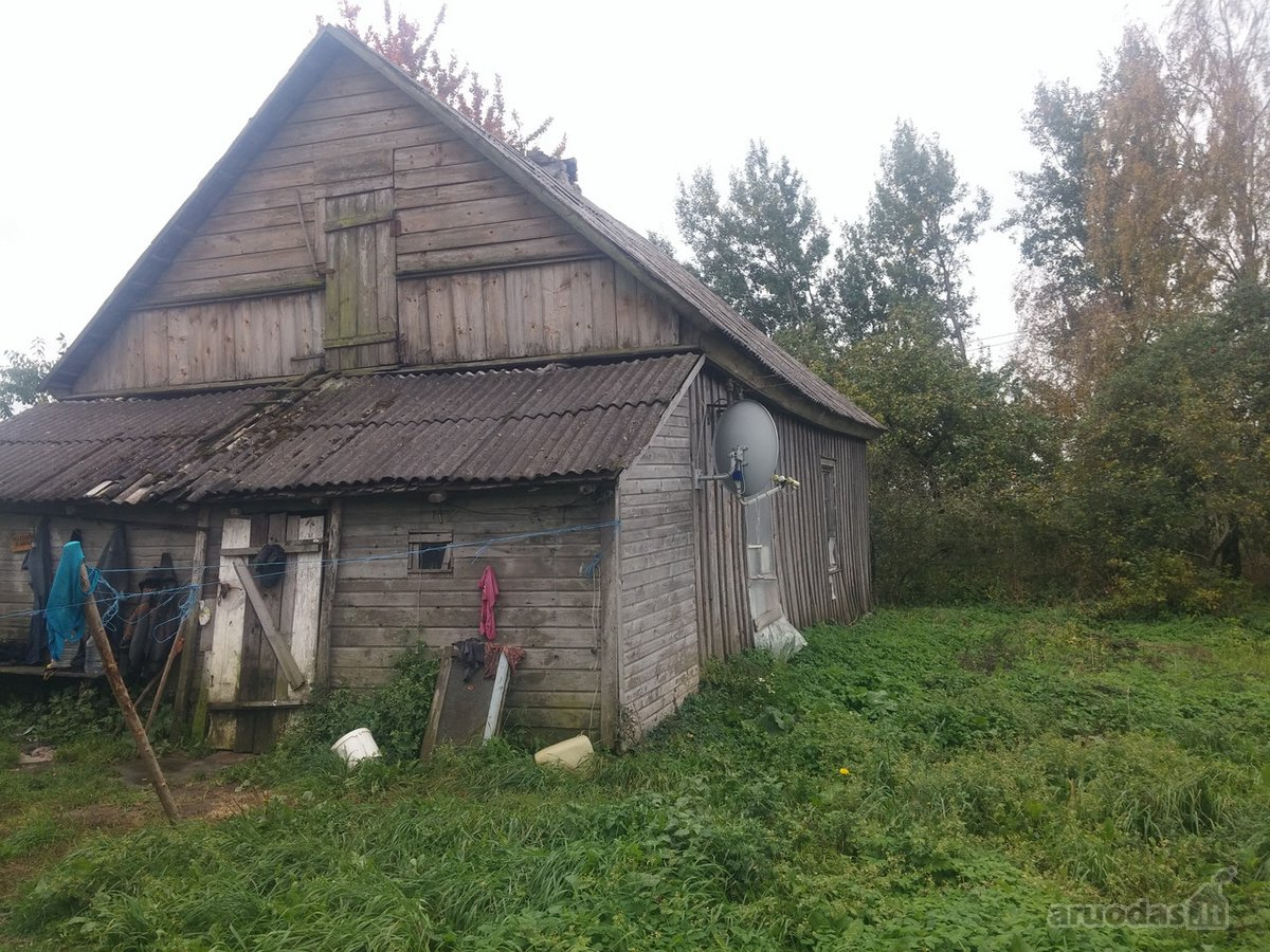 Kelmės r. sav., Lykšilio k., Šaukėnų g., namų valdos, žemės ūkio paskirties sklypas