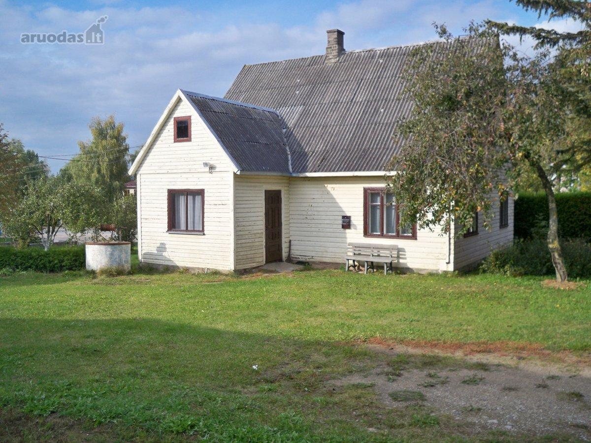 Kalvarijos sav., Trakiškių k., Gintaro g., medinis namas