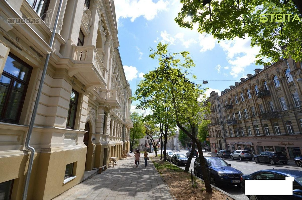 Vilnius, Naujamiestis, J. Basanavičiaus g., biuro paskirties patalpos nuomai