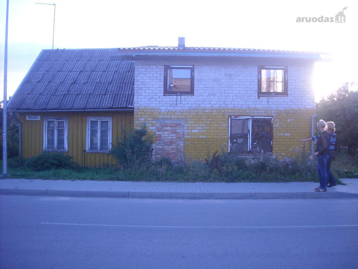 Rietavo m., Žalioji g., mūrinio namo dalis