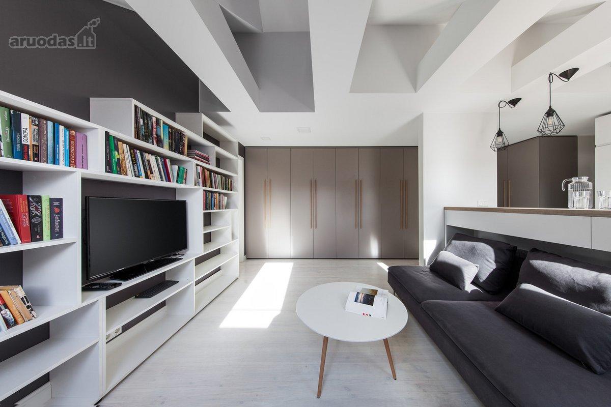 Vilnius, Senamiestis, A. Smetonos g., 3 kambarių butas
