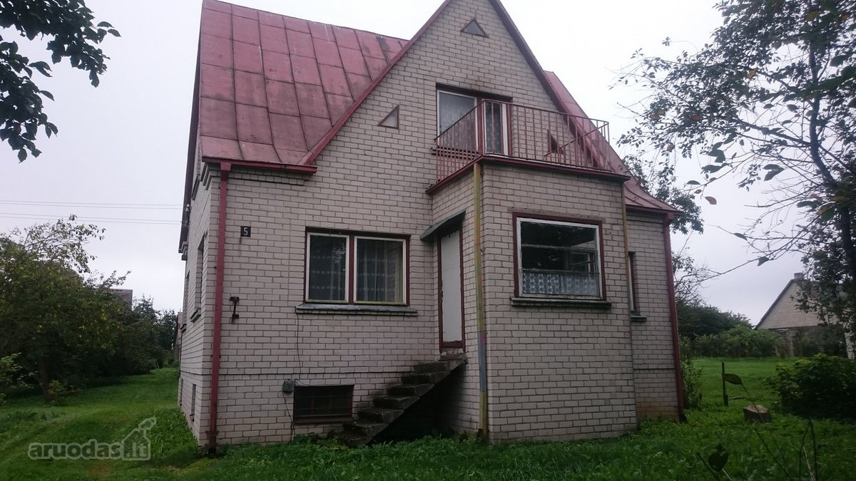 Prienų r. sav., Skriaudžių k., Ežero g., mūrinis namas