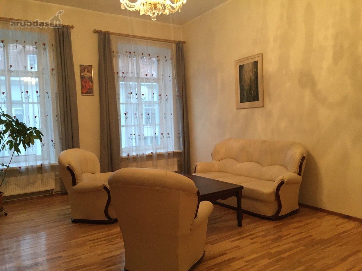 Vilnius, Senamiestis, Vokiečių g., 3 kambarių buto nuoma