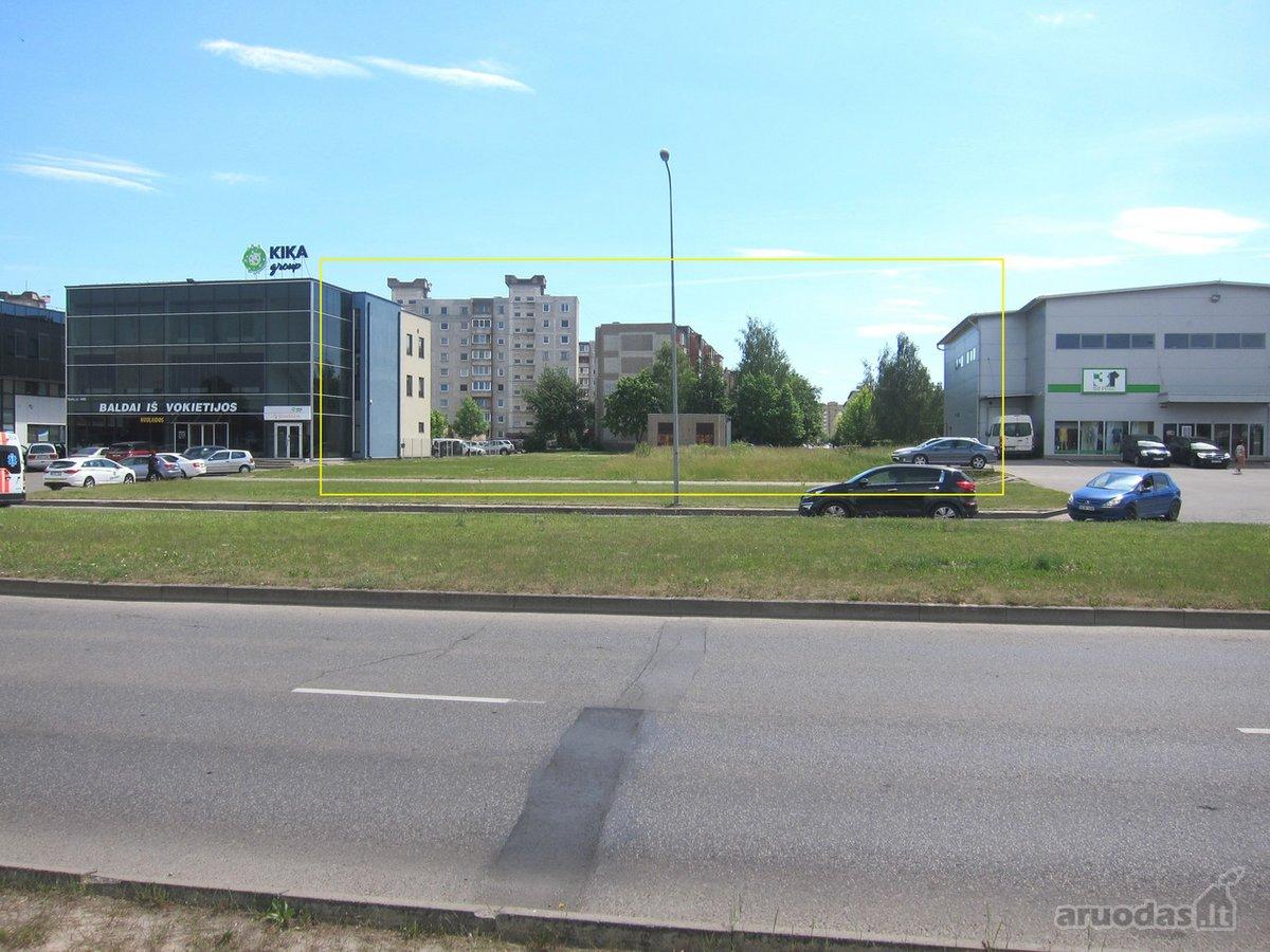 Kaunas, Baltų pr., komercinės paskirties sklypas