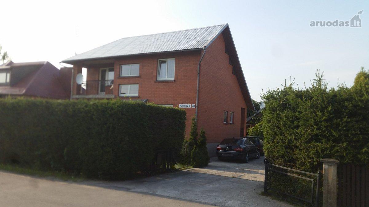 Jurbarko m., Purienų g., mūrinis namas