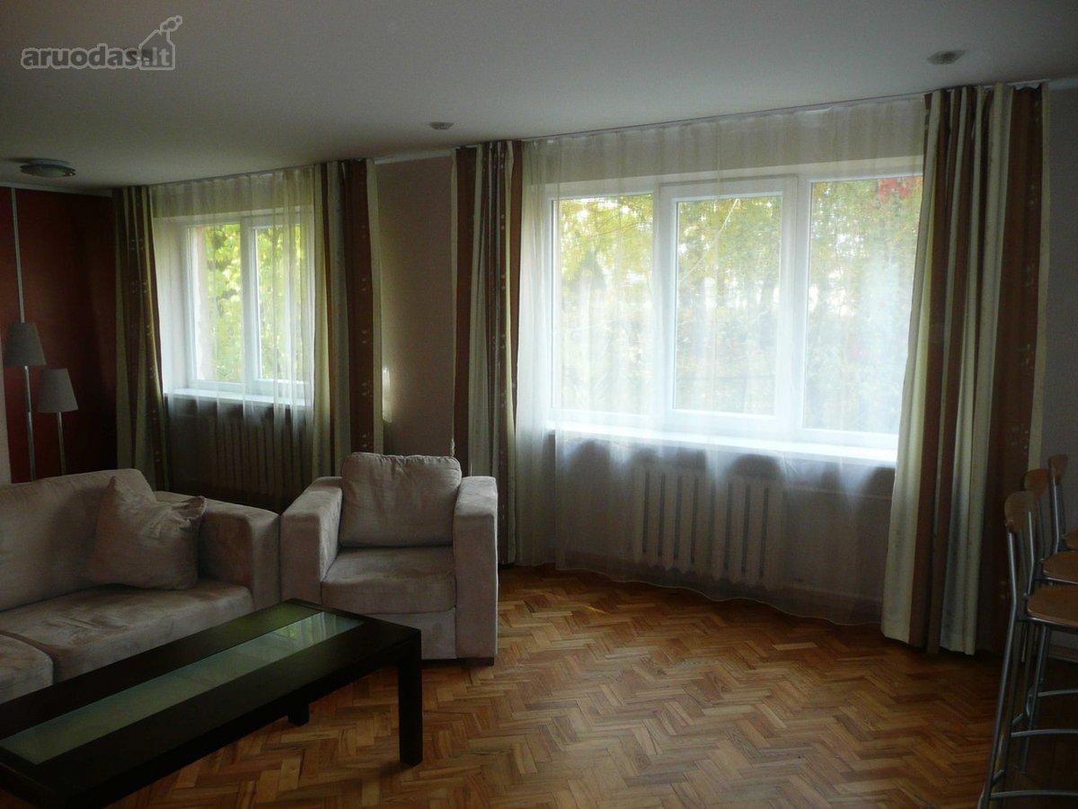 Kaunas, Žaliakalnis, Vaižganto g., 3 kambarių buto nuoma