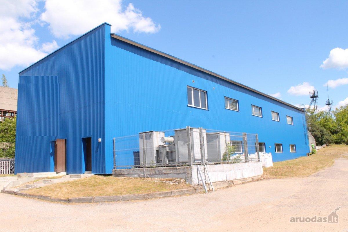 Vilnius, Naujoji Vilnia, Pramonės g., biuro, prekybinės, paslaugų, sandėliavimo, gamybinės, kita paskirties patalpos