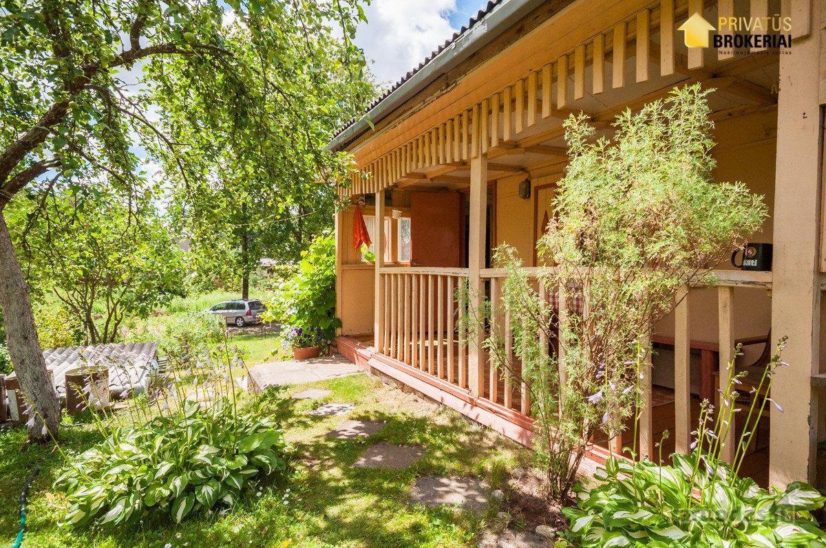 Vilnius, Balsiai, Krakiškių Sodų 14-oji g., medinis sodo namas