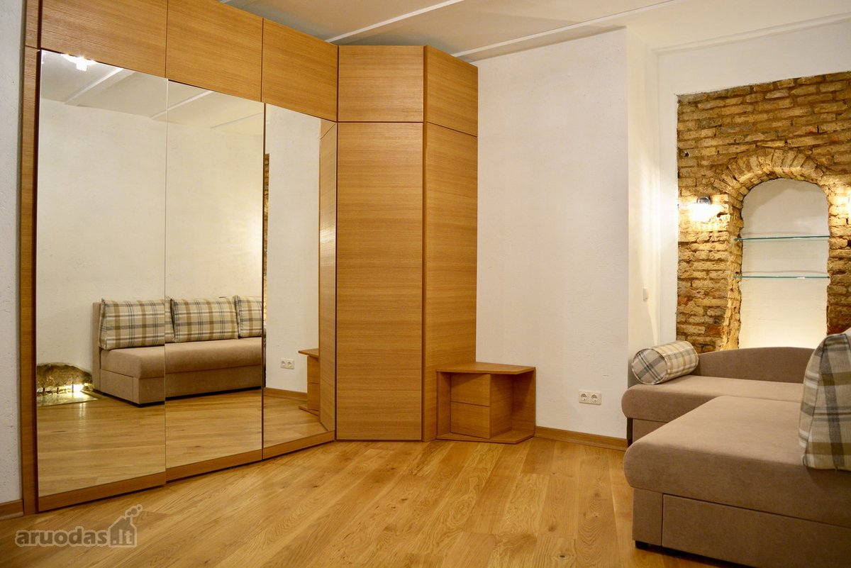 Vilnius, Užupis, Polocko g., 1 kambario buto nuoma