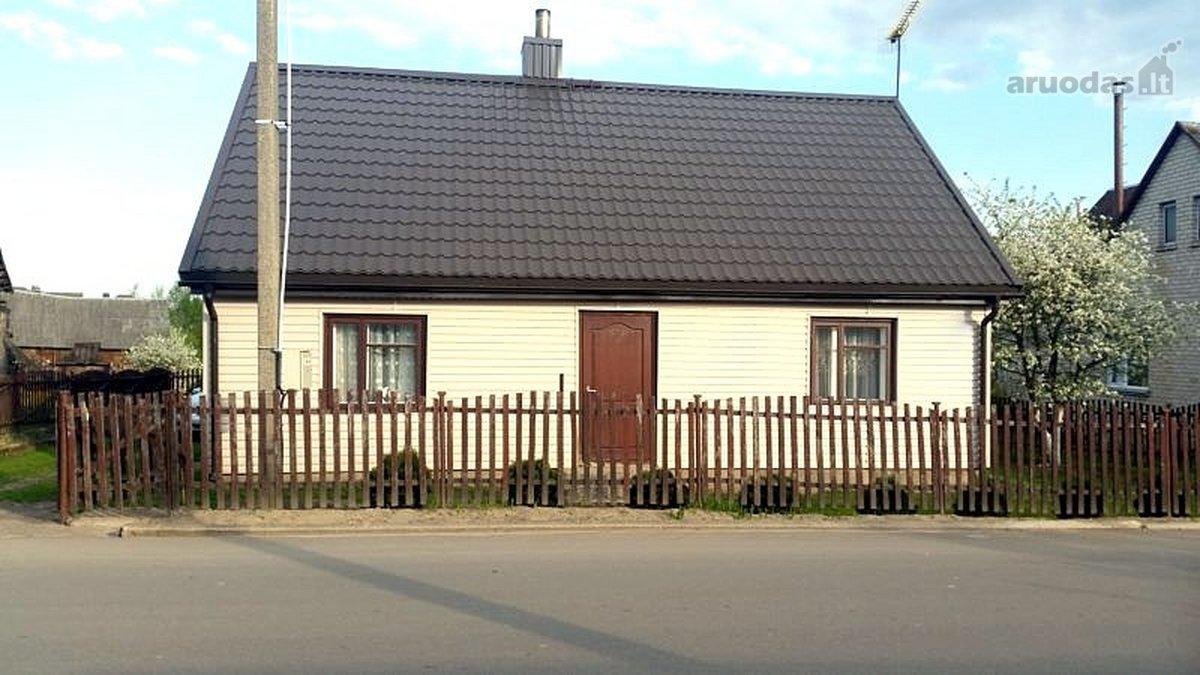 Prienų r. sav., Jiezno m., Vilniaus g., rąstinis namas