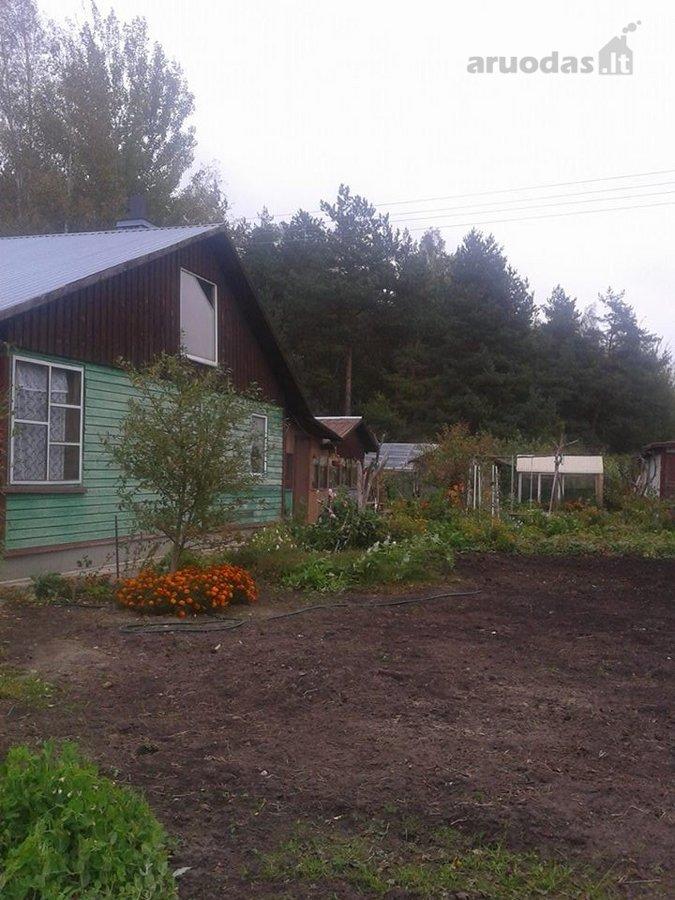 Panevėžio r. sav., Juodlieknio k., Energetikų g., medinis sodo namas