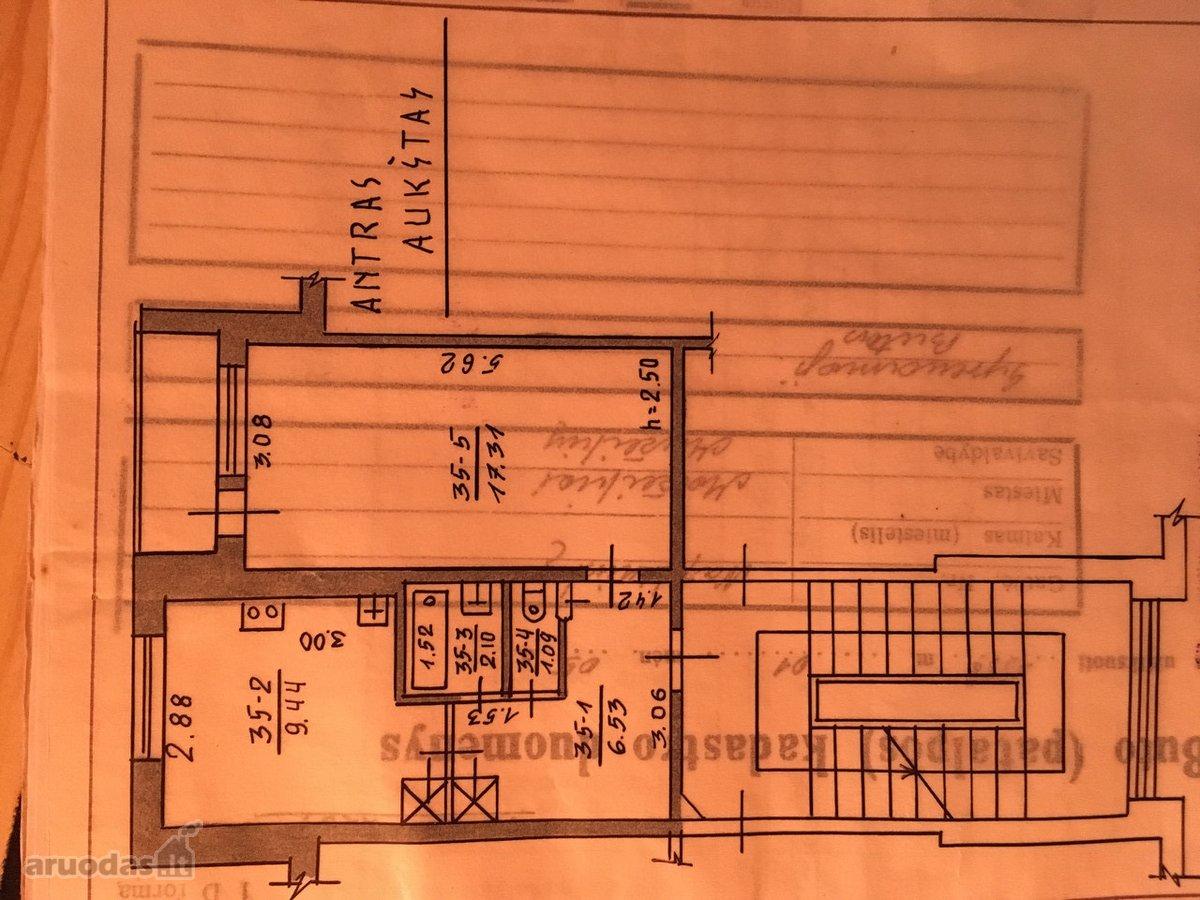 Mažeikių m., Naftininkų g., 1 kambario butas
