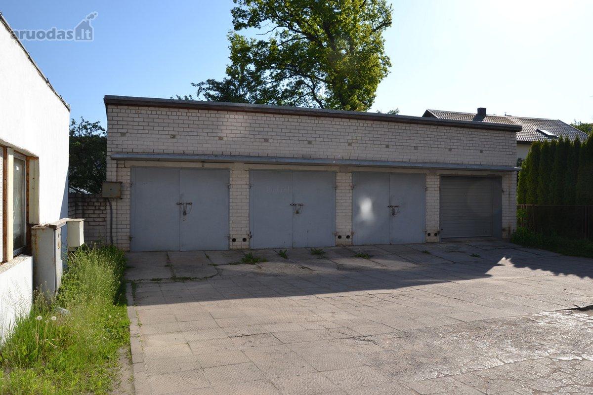 Kaunas, Žaliakalnis, Studentų g., mūrinis garažas