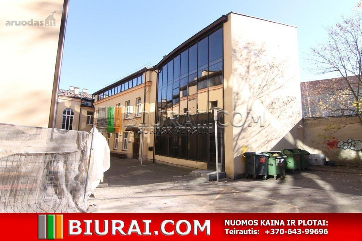 Vilnius, Senamiestis, Vilniaus g., biuro, prekybinės, paslaugų, maitinimo paskirties patalpos nuomai