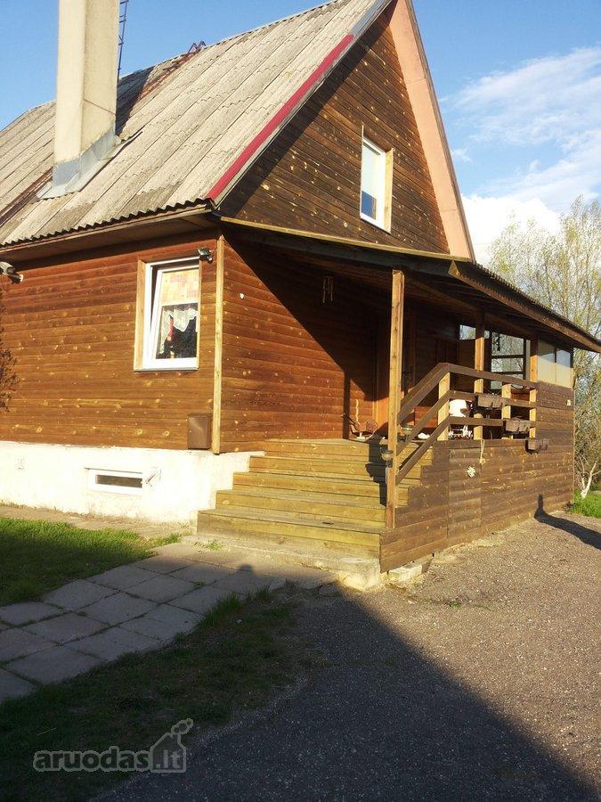Trakų r. sav., Kariotiškių k., karkasinis namas