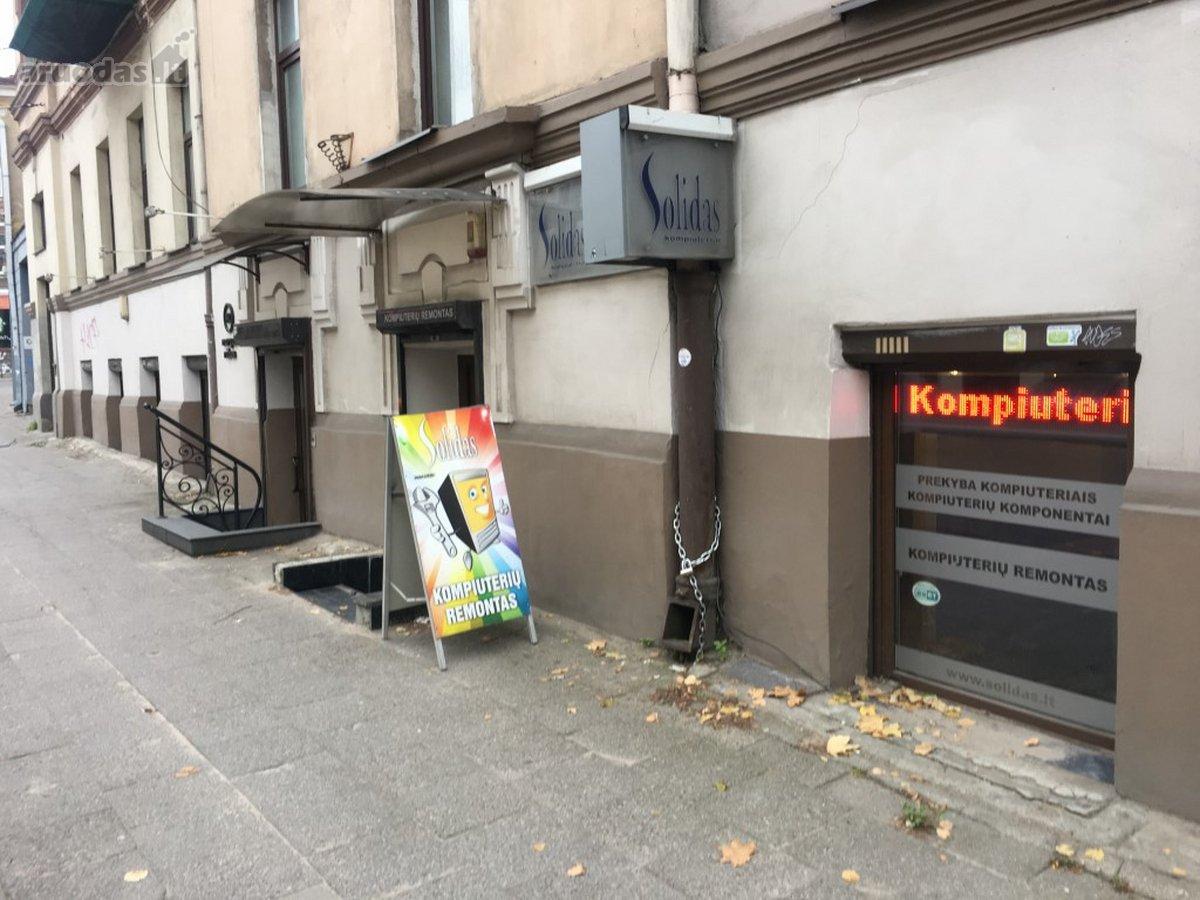 Vilnius, Senamiestis, Pylimo g., biuro, prekybinės, paslaugų paskirties patalpos nuomai
