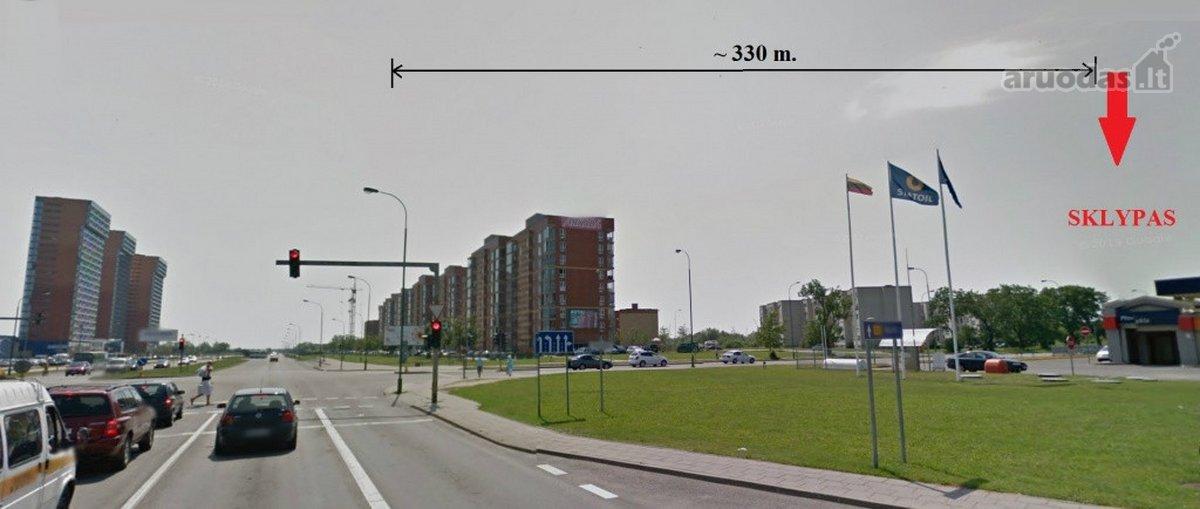 Klaipėda, Alksnynė, Smiltelės g., daugiaaukštės statybos, komercinės paskirties sklypas