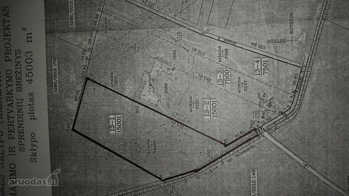 Kauno r. sav., Dubravų k., žemės ūkio paskirties sklypas