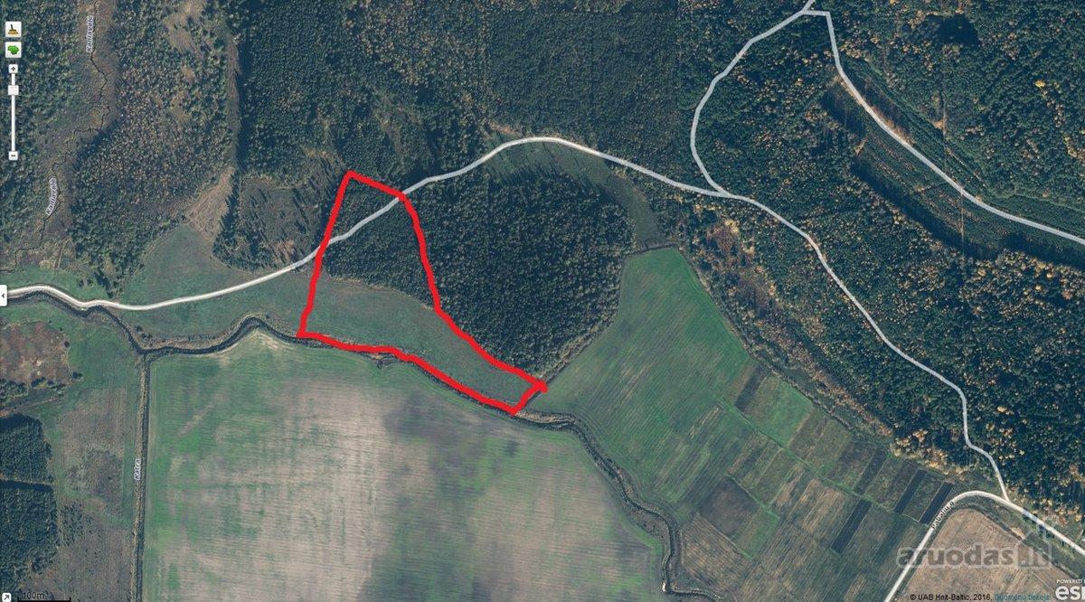 Varėnos r. sav., Dubičių k., žemės ūkio, miškų ūkio paskirties sklypas