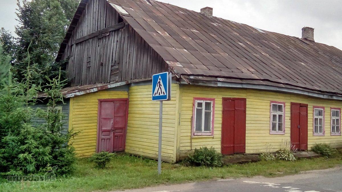 Alytaus r. sav., Butrimonių mstl., rąstinė namo dalis