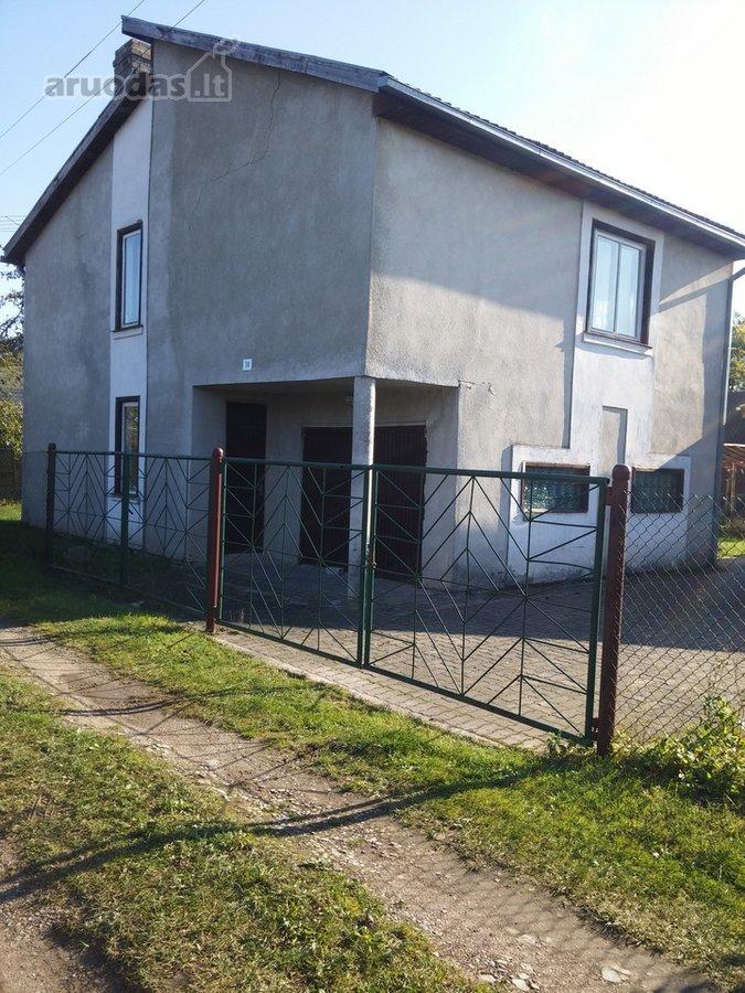 Kauno r. sav., Gervėnupio k., Slyvų g., mūrinis sodo namas