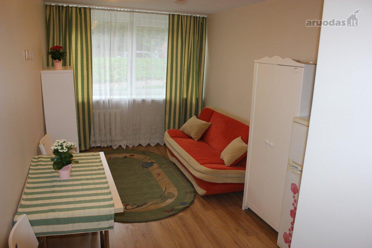 Vilnius, Naujamiestis, Geležinio Vilko g., 1 kambario buto nuoma