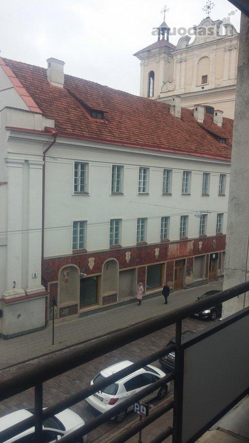Vilnius, Senamiestis, Dominikonų g., 2 kambarių buto nuoma