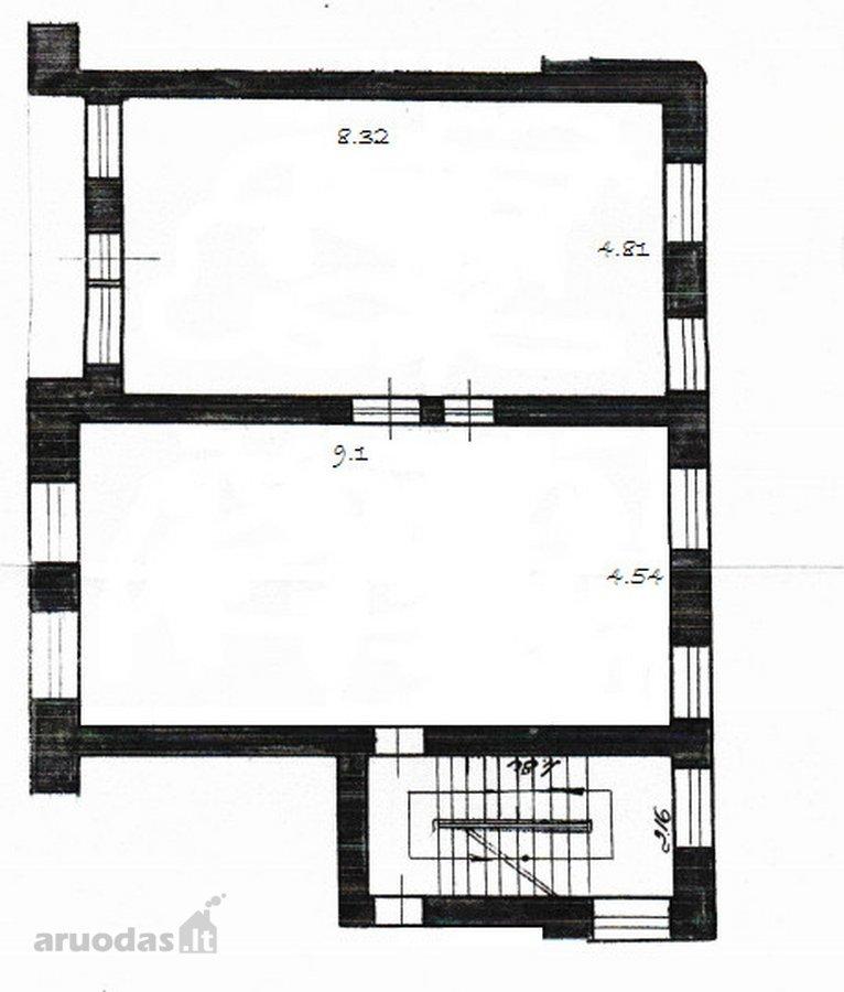 Vilnius, Naujamiestis, A. Smetonos g., 2 kambarių butas