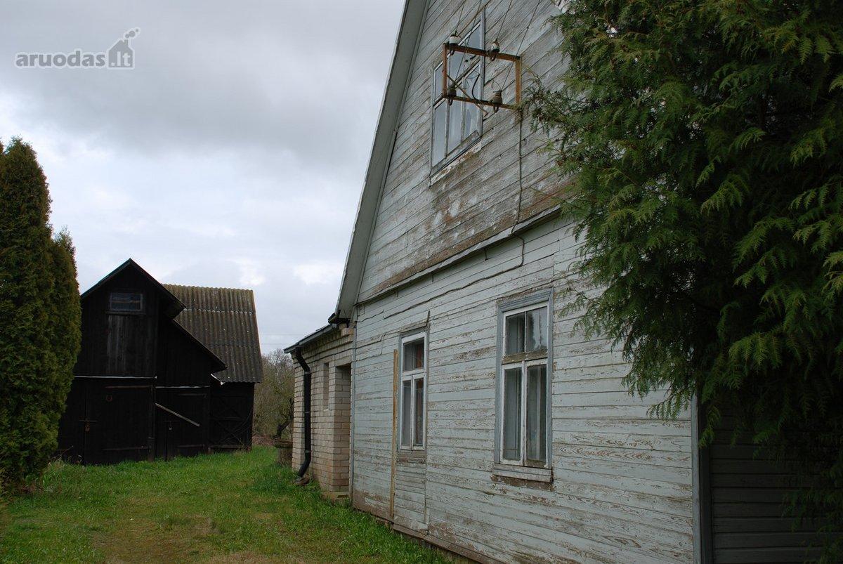 Pasvalio r. sav., Saločių mstl., Bauskės g., medinis namas