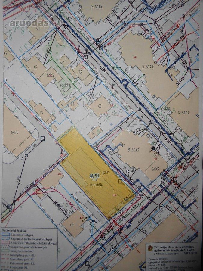Vilnius, Naujamiestis, S. Konarskio g., namų valdos, daugiabučių statybos, komercinės, Kita paskirties sklypas