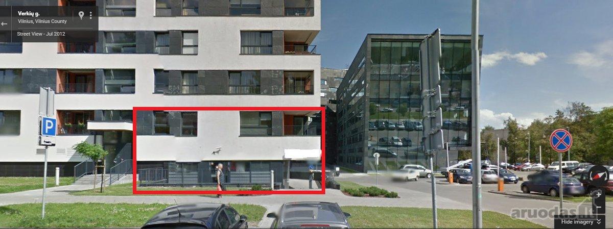 Vilnius, Šiaurės miestelis, Verkių g., biuro paskirties patalpos