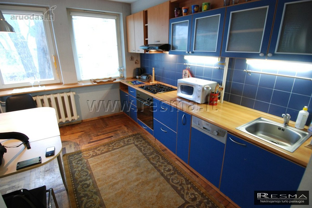 Kaunas, Centras, D. Poškos g., 2 kambarių buto nuoma